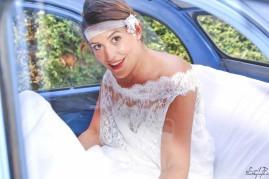 Mariage Sarrians Citroen Deux Chevaux