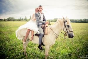 Mariage à cheval Chateaurenard