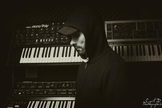 Shooting DJ Paul Nazca Label Scandium Korg